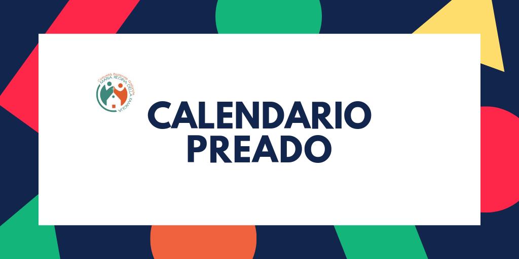 Calendario Preado